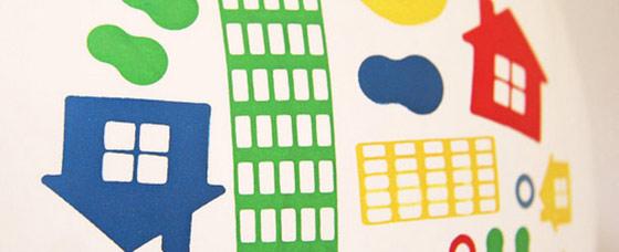 Balony z nadrukiem własnym - cztery kolory